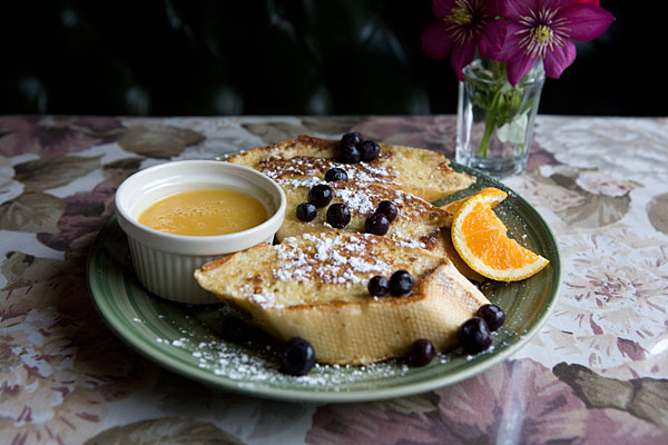 Stuffed french toast, Hilltop Restaurant, Lakeville