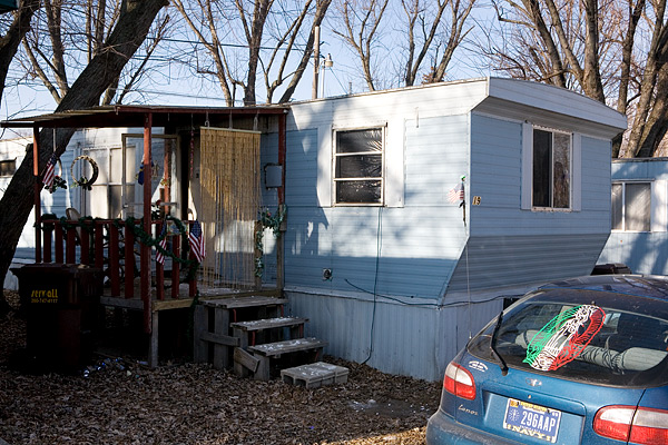 Home in a trailer park, Ligonier
