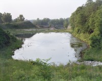 Gravel pit pond, Kuert Concrete